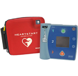 Philips Heartstart Fr2 Aed With Case Battery And Pads