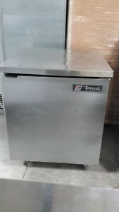 Used True Tuc 27f 27 Reach in Undercounter Freezer