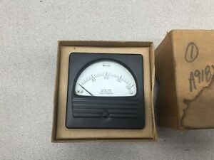 New In Box Weschler Dc Volt Meter 0 200 Volts 409c532a23 Rx351dcv