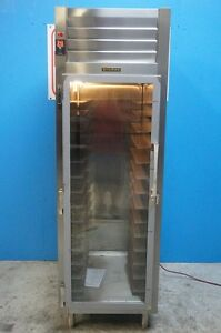 New Traulsen Narrow Single Section Glass Door On One Side Pass Through Refriger
