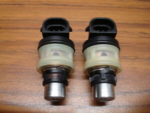 Chevy Gmc 4 3l 262ci V6 Genuine Oem Gm Mini Tbi Injectors 17087699