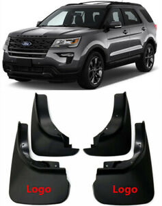 Genuine Oem Splash Guards Mud Flaps Bb5z16a550aa bb For 2011 2019 Ford Explorer