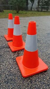 18 Orange Safety Traffic parking Cone
