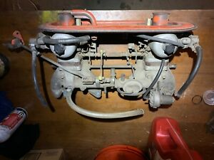 240z Su Carbs Carburetors 1970 71 E46 Manifold 4 Screw W linkage Etc