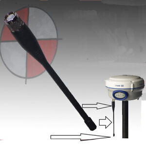 New 450 470mhz 6 Inch Whip Antenna For Trimble R6 R8 High Frequency Gps Survey