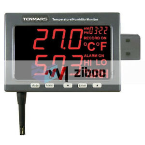 Tenmars Tm 185 Temperature Humidity Led Monitor 4o To 140of 20o To 60oc