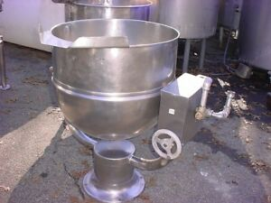 40 Gallon Stainless Steel Jacketed Tilt Kettle
