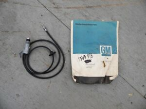 Nos Pontiac 1969 Bonneville Catalina Antenna Base And Lead Front Fender 13
