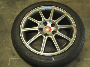 Jdm Single 05 07 Subaru Impreza Wrx 17x8 Et53 5x114 3 Oem Alloy Wheel No Tire