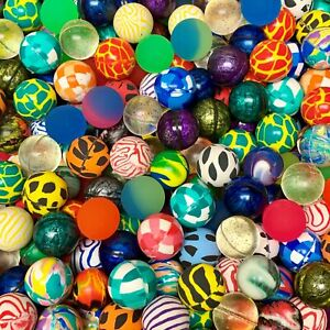 2000 Premium Quality One Inch 27mm Super Bounce Bouncy Balls 1 Exclusive Mix