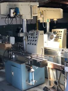 All fill Auger Filler Automatic With Conveyor