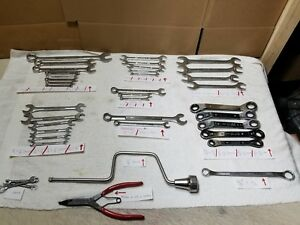 Lot 36 Craftsman Combination Open Speed Wrenches 6 12 Pt Sae metric All Usa