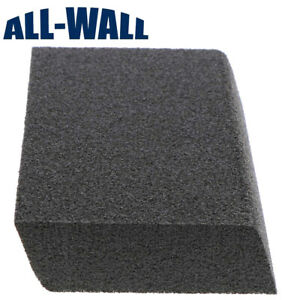 All wall Dual Angle Drywall Sanding Sponges 100 Pack Med fine W rounded Edge