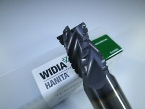 Widia Hanita Tf4q4519007a Carbide 3 4 Roughing End Mill Milling Rougher Tool