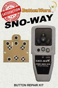 Sno Way Snoway Controller Keypad Repair Kit 96107354 96107355