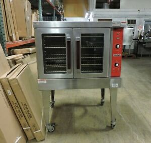 Vulcan Vc4ed Commercial Used Single Deck Electric Convection Oven 3 hp