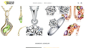 Fashion Jewelry Website Automated Dropship Shipped From China