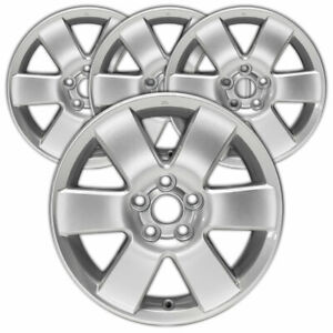 15 Painted Silver Rim By Jte For 2003 2008 Toyota Matrix 15x6 set Of 4