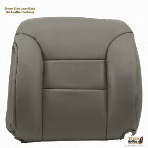 1995 1996 1997 1998 19999 Chevy Tahoe Suburban Top Lean Back Leather Cover Gray