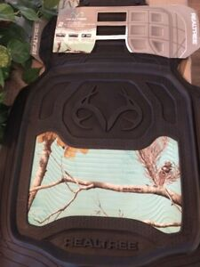 Realtree Camo Floor Mats Front Ap Cool Mint 2 Pack