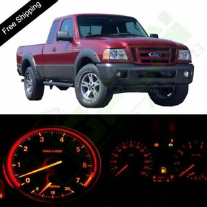 Instrument Speedometer Dashboard Red Led Lights For 95 03 Ford Ranger W Tacho