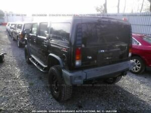 Rear Bumper Suv Without External Spare Tire Carrier Fits 03 05 Hummer H2 1203255