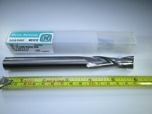 Metal Removal M31212 Carbide End Mill 5 8 X 2 X 6 Long Length Milling Tool
