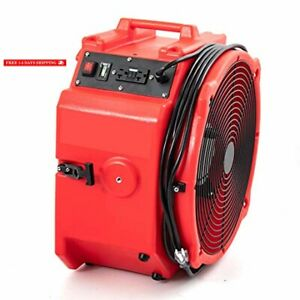 Mounto Industrial 4000cfm Axial Fan Blower Commercial Air Mover Floor Dryer ora