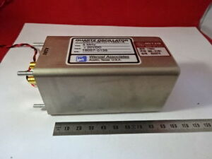 Wenzel Miteq 5 Mhz Low Phase Noise Quartz Oscillator Frequency Standard 6v a 34
