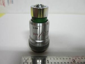 Objective Vickers England 40x Met Optics Microscope As Is Bin g5 20