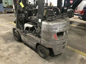 Nissan 50 Forklift For Parts Or Repair