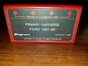 Snap On Ford Primary Cartridge Mt 2500 1290