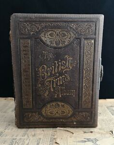 Rare Victorian Musical Photograph Album British Army Working With Key