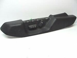 Volvo Oem Driver Power Seat Control Switch Charcoal Trim S70 V70 98 99 00
