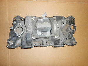 Weiand Intake Sbc Chevy 383 350 327 Hot Rod Rat Small Block 400 8004 Used Nice