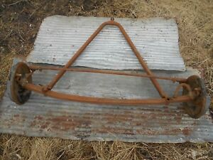 1928 1929 1930 1931 Ford Model A Front Axle Brakes Spindle Wishbone Ratrod Hot