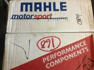 Mahle Seven Pistons Sbc Small Block Chevy 1 120 Comp Height 4 260 Bore 10 Degree