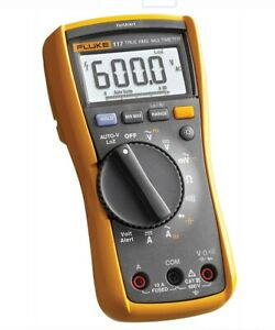 New Fluke 117 Electrician s Digital Multimeter With Non contact Voltage Electron
