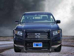 Black Horse Fits 06 15 Honda Ridgeline Black Grille Brush Guard 17a152500a1ma