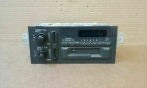 Audio Equipment Radio Am Mono fm Stereo cassette Fits 95 Caprice 62009