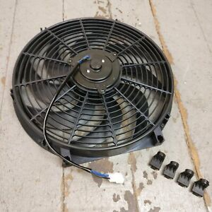 1935 Oldsmobile F 35 14 Inch Super Duty Radiator Fan Performance Cooling Slim