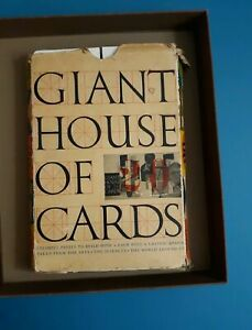 Eames Giant House Of Cards Original Complete 1953 Set Mid Century Modern