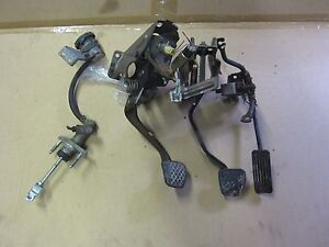 99 03 Acura Cl 6 Speed Manual Pedals Clutch Master Cylinder 00 01 02