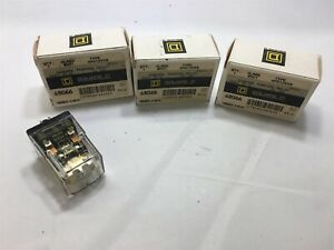 Lot Of 3 Square D 8501 Kpd12v53 Genearl Purpose Relay Dpdt 10a 24 Vdc Coil