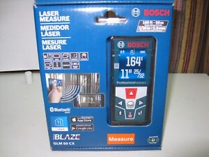 Bosch Blaze Glm 50 Cx 165 Ft Laser Measure With Bluetooth Brand New 150 Msrp
