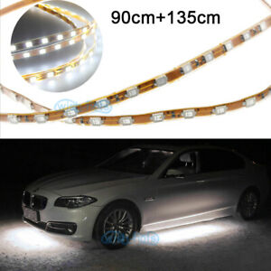 4pcs Waterproof Flexible 36 53 Led Strip Underbody Light For Car Motorcycle