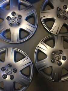 4 New 2006 2007 2008 2009 2010 2011 Toyota Yaris Hub Caps Hubcap Wheel Covers15