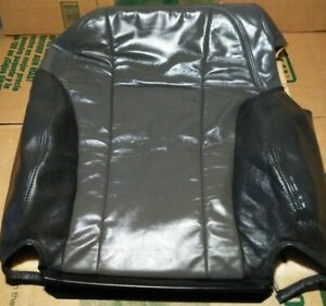 2002 2009 Trailblazer Envoy Driver Seat Backrest Back Rest Leather Cover Skin Oe