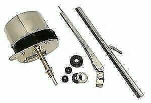 Stainless Steel Windshield Wiper Kit Universal Application 12 Volts Motor