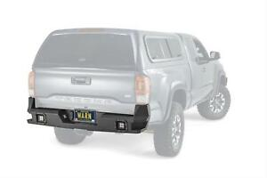 Warn Ascent Rear Bumper For 16 17 Toyota Tacoma 98054